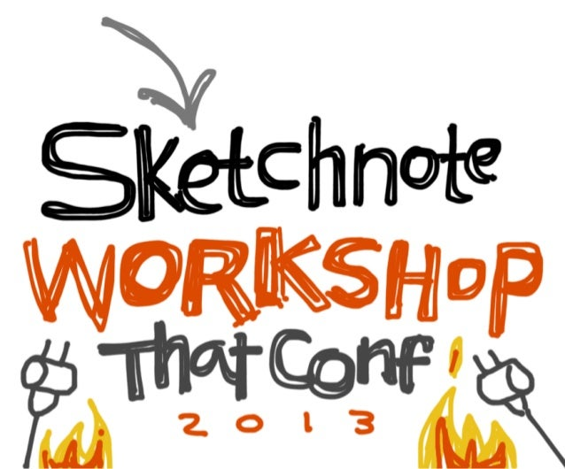 Sketchnote Workshop Deck: That Conference 2013