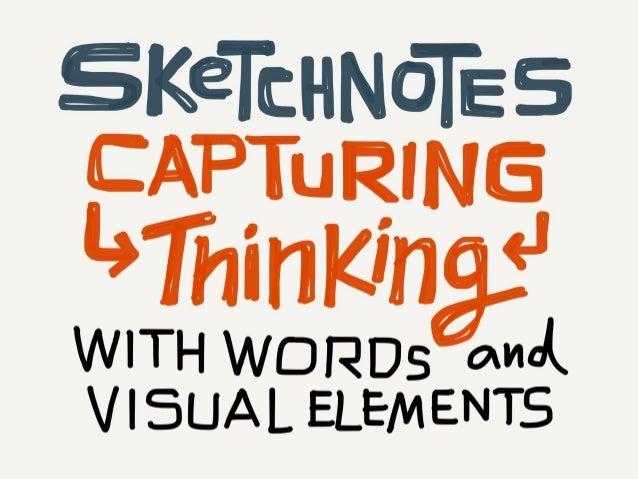 The Sketchnote Mini-Workshop