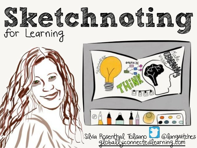 Sketchnoting  Silvia Rosenthal Tolisano @langwitches  globallyconnectedlearning.com  for Learning