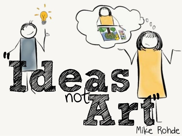 "Ideas  Mike Rohde  not  ""  Art"""