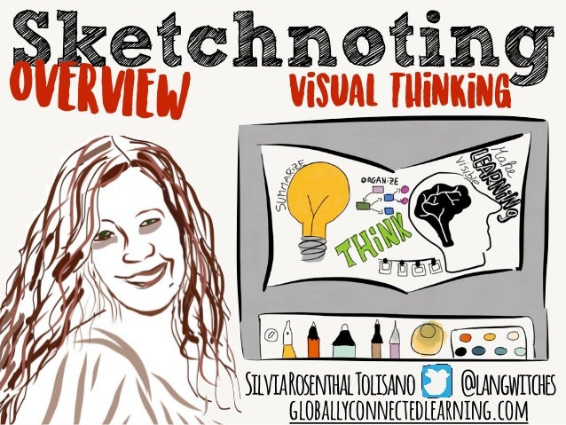 Sketchnoting SilviaRosenthalTolisano @langwitches globallyconnectedlearning.com OVERVIEW Visual Thinking