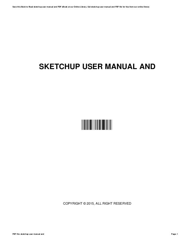 sketchup user manual and rh slideshare net sketchup user manual pdf sketchup user manual pdf