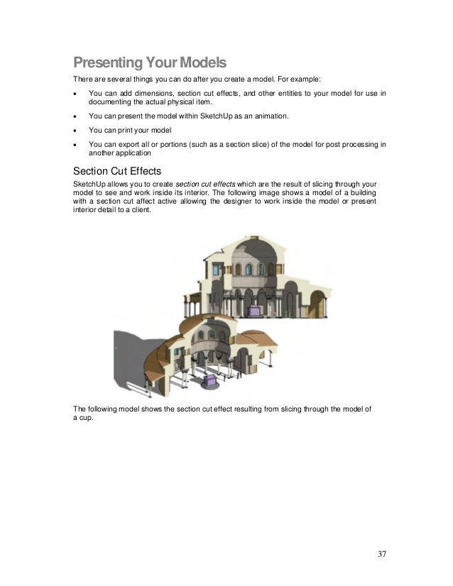 Sketchup user guide