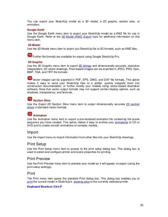 sketchup user guide rh slideshare net Anime Sketch Guide Senator Sketch