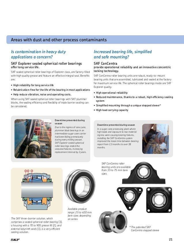 SKF Food and Beverage Capability