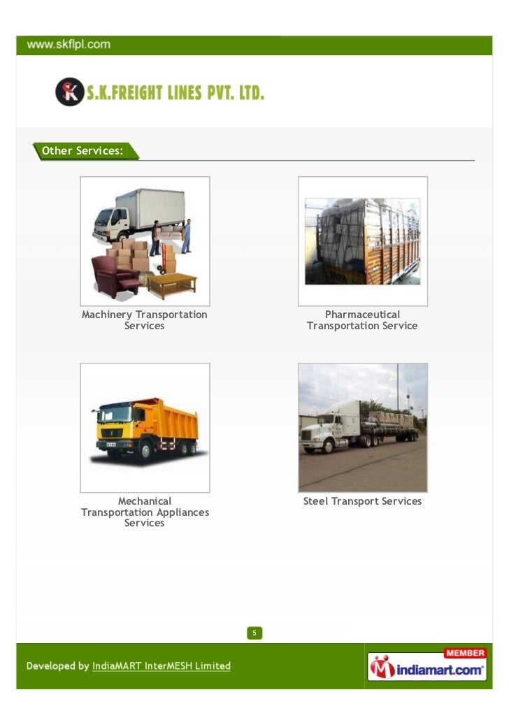 S  K  Freight Lines Private Limited, Mumbai, Transportation