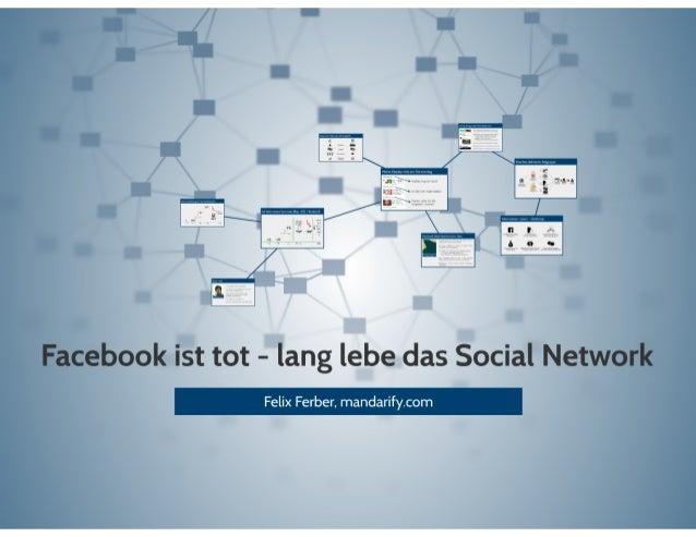 ". oleilst tot - lang lebe das Social"" N '  Felix Ferber,  mandarify. com"