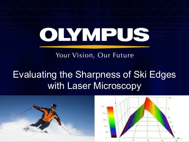 Evaluating the Sharpness of Ski Edges with Laser Microscopy