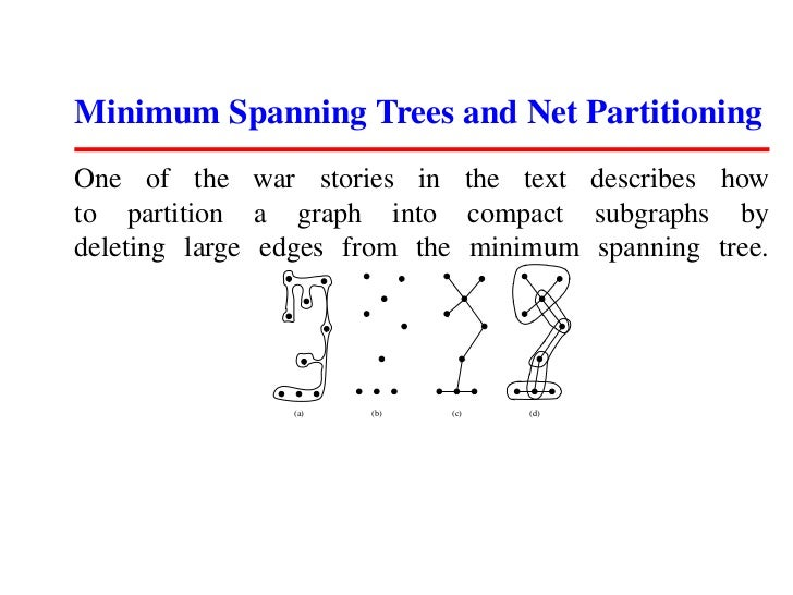 minimum spanning tree in data structure pdf