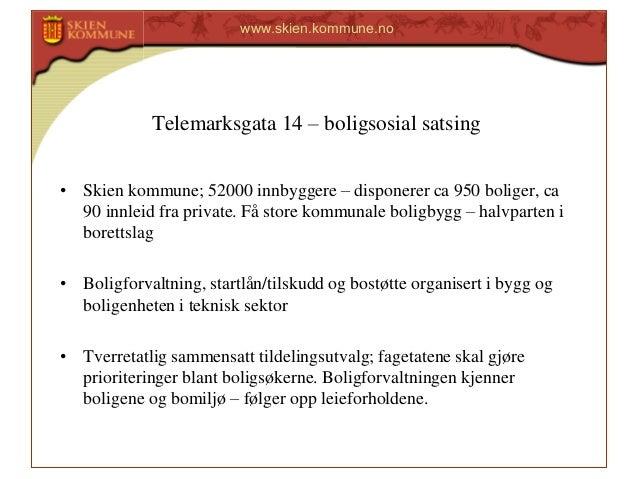 Telemarksgata 14 Boligsosial Satsing Ved Atle Kristiansen Skien K