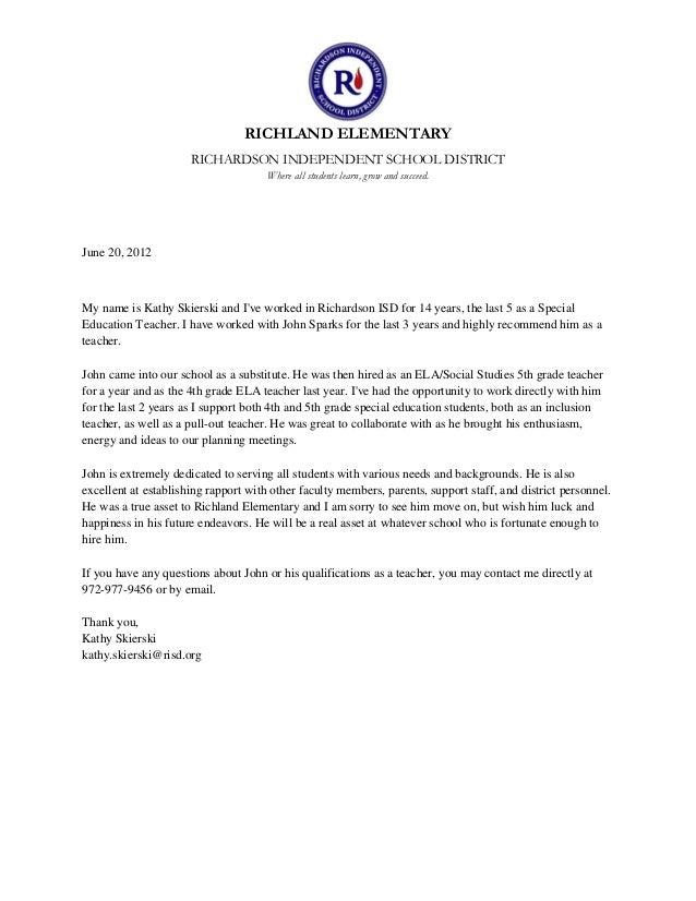 Reference letter for substitute teacher dolapgnetband reference letter for substitute teacher skierski recommendation letter 06 19 2012 reference letter for substitute teacher thecheapjerseys Choice Image