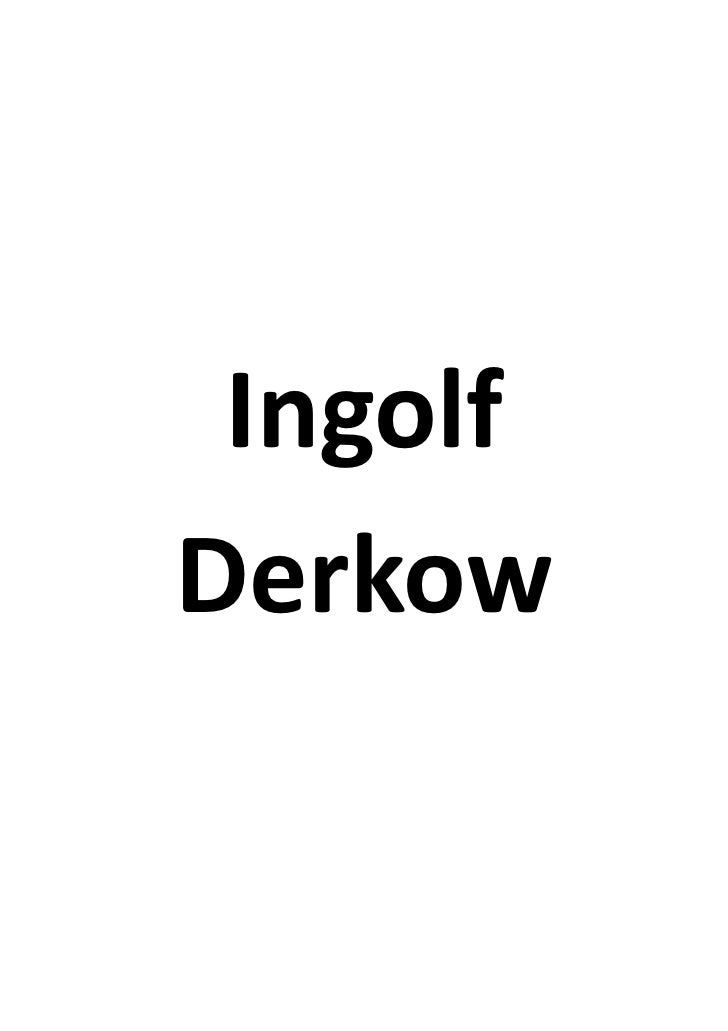 IngolfDerkow
