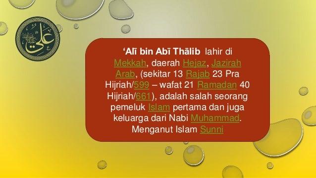 Kata Bijak Imam Ali Bin Abi Thalib Motivasi Dan