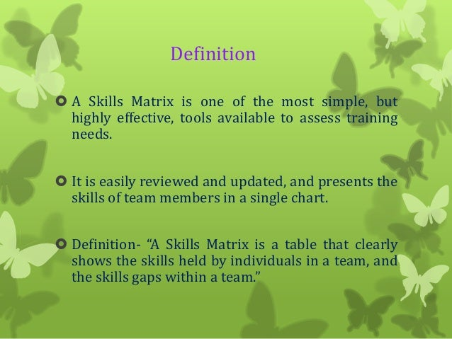 Skill matrix by Md  Mazharul Islam