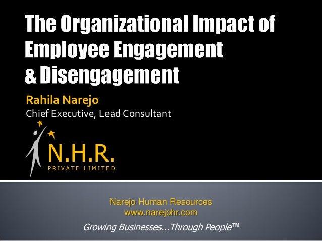 Rahila Narejo Chief Executive, Lead Consultant P R I V A T E L I M I T E D N.H.R. Growing Businesses...Through People ™ Na...