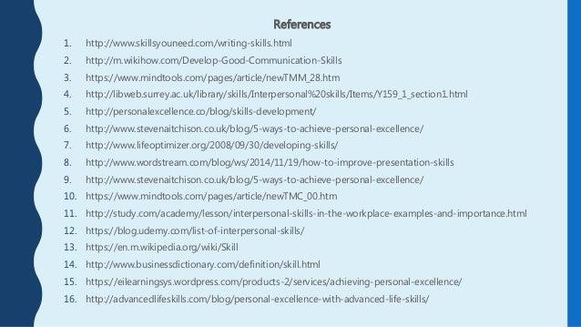 Presentation skills wiki - Simple resume sample