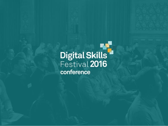 ‣ wifi - Digital Skills 2016 ‣ password: festival ‣ #MDSkillsFest