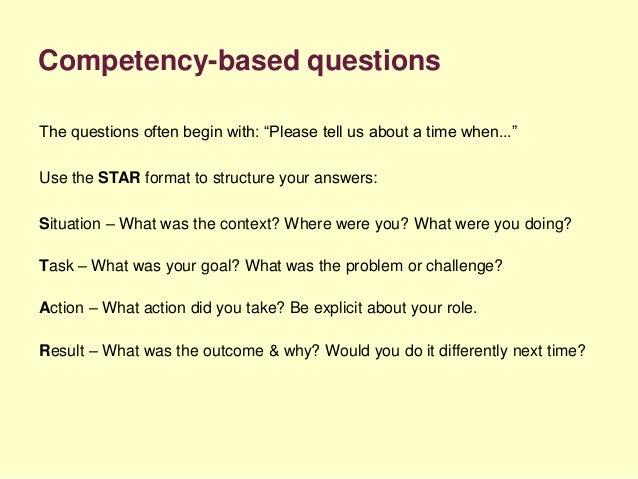star format questions