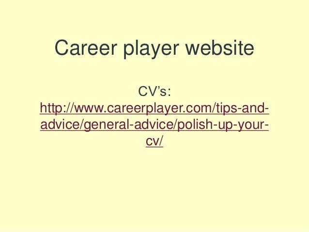 Career ...