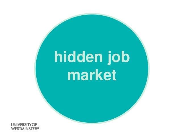 Skills academy summer 2017 - hidden jobs market