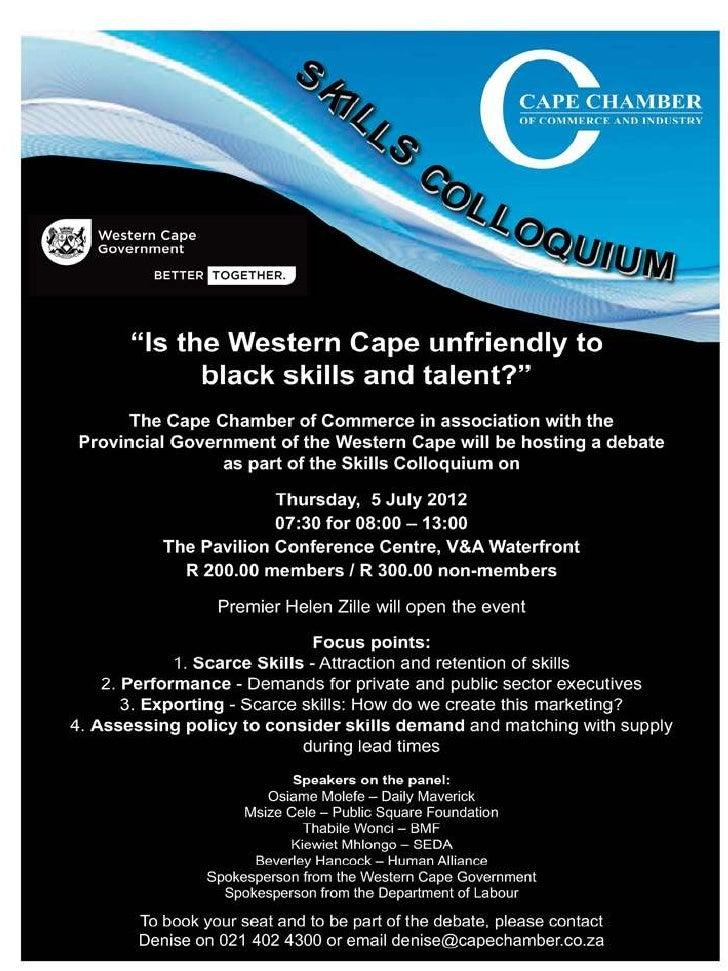 Skills Colloquium