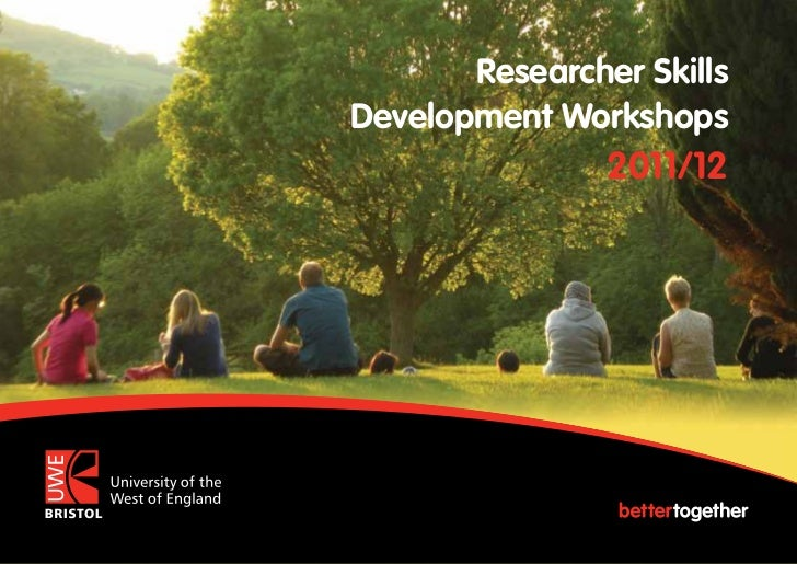 Researcher SkillsDevelopment Workshops                2011/12