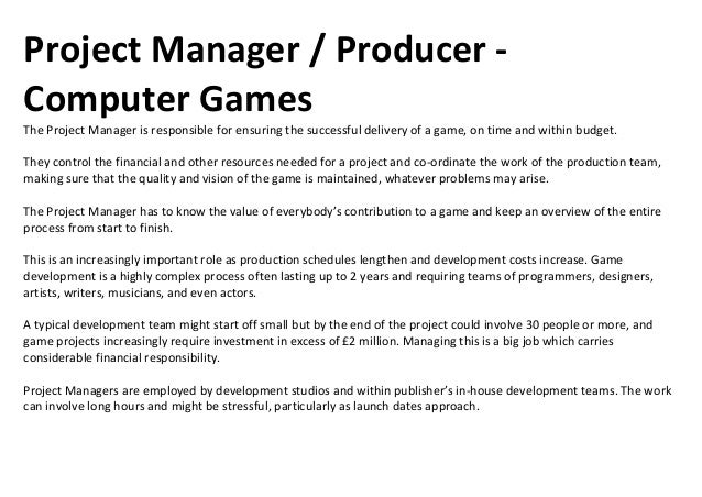 Job Roles in the Games Industryhttp://www.creativeskillset.org/games/careers/profiles/index_1.asp
