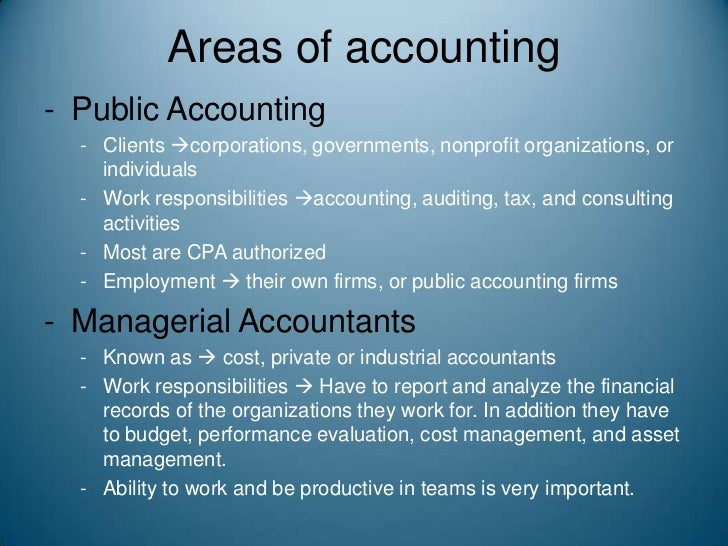 Accounting For Government And Non Profit