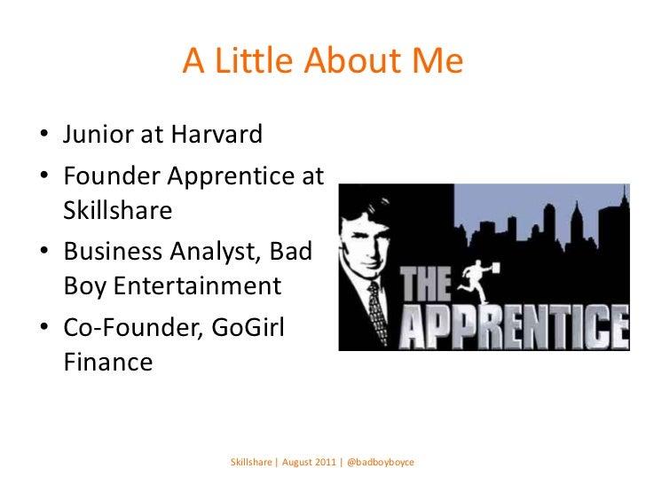 Skillshare | How to Land An Internship at a Startup Slide 2