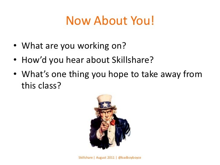 Skillshare | How to Land An Internship at a Startup Slide 3