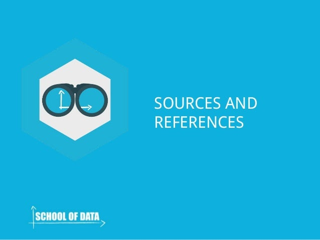 SOURCES AND REFERENCES