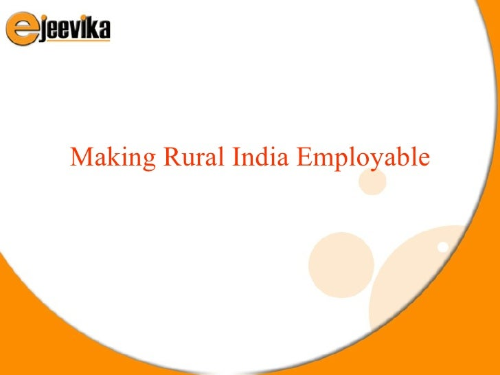 Making Rural India Employable