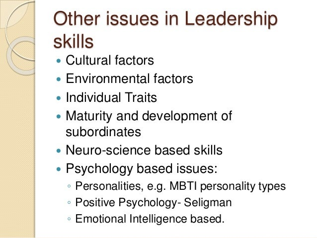 leadership skills in public health Leadership training programs and competencies for mental health, health, public administration, and business in seven countries january 29, 2009 richard h beinecke.