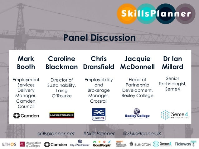 SkillsPlanner launch presentation