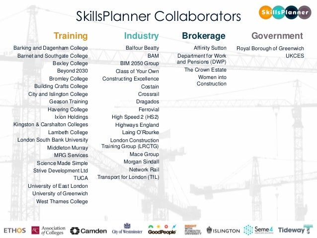 Andy Mitchell CBE Chief Executive Officer Tideway skillsplanner.net #SkillsPlanner @SkillsPlannerUK