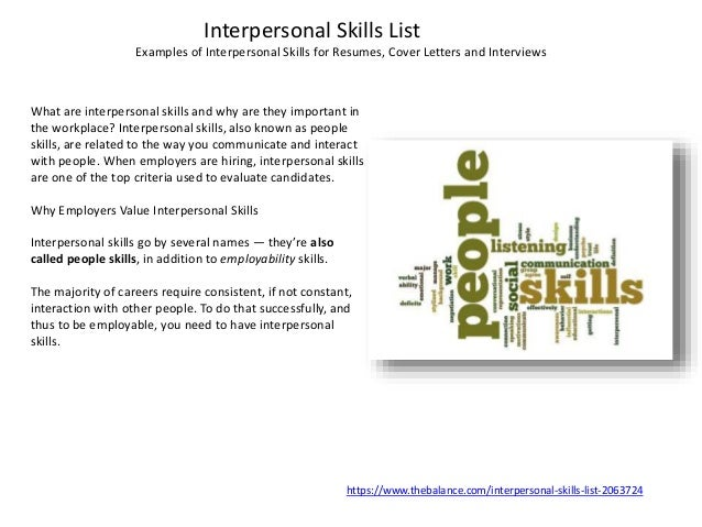 transferable skills examples