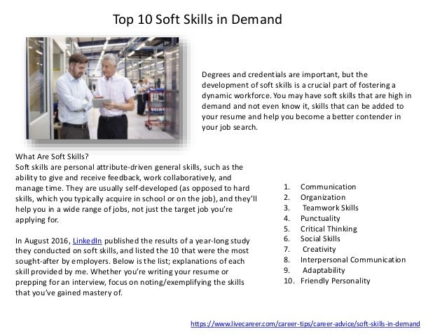 let s talk soft skills hard skills transferable skills