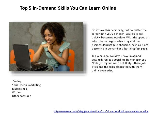 ... Agility Technical Savvy; 7. Top 5 In Demand Skills ...
