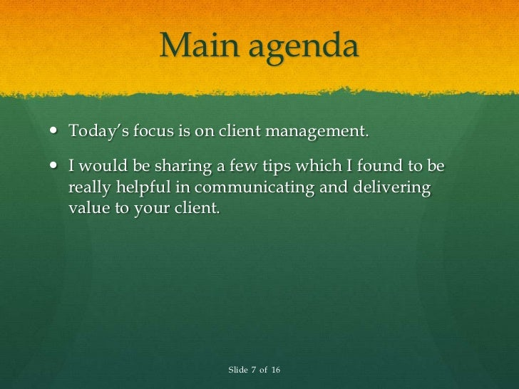 a discussion on client management skills Effective communication in cancer care  learn about communication skills that  culture and process on client/provider communication in cancer management.