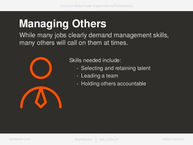 7 Ways Soft-Skills Power Organizational Performance Slide 33