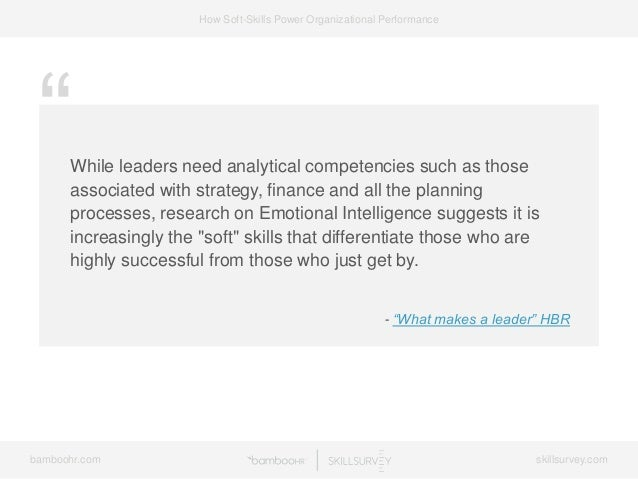 7 Ways Soft-Skills Power Organizational Performance Slide 44