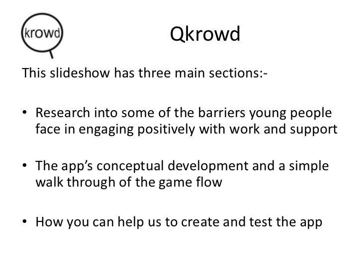 Qkrowd 'Working Well' info for prospective partners Slide 3