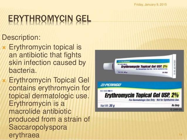 Erythromycin cream