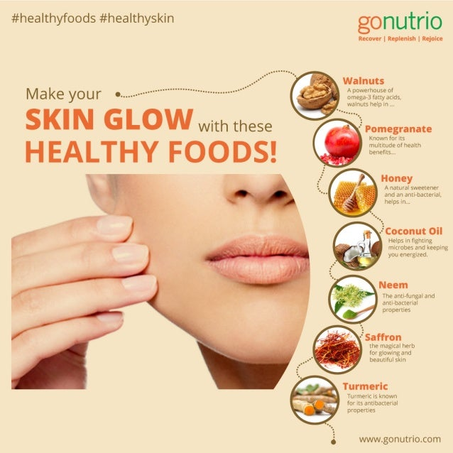 Foods That Can Make Your Skin Glow