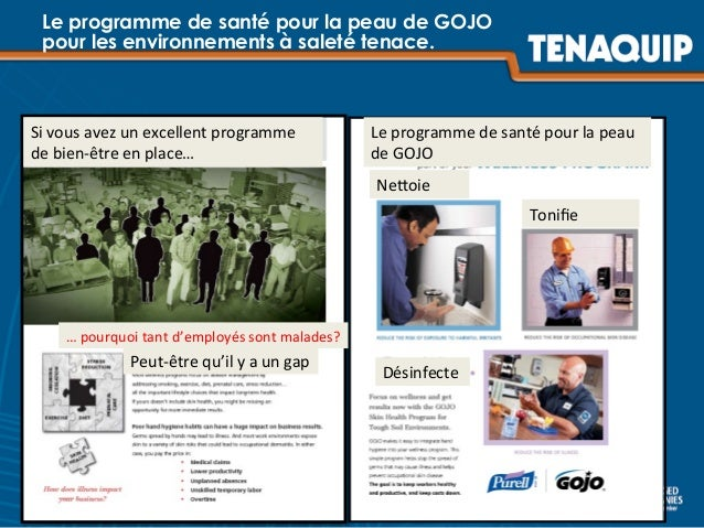 Le programme de santé pour la peau de GOJO pour les environnements à saleté tenace. Le  programme  de  santé  pour...