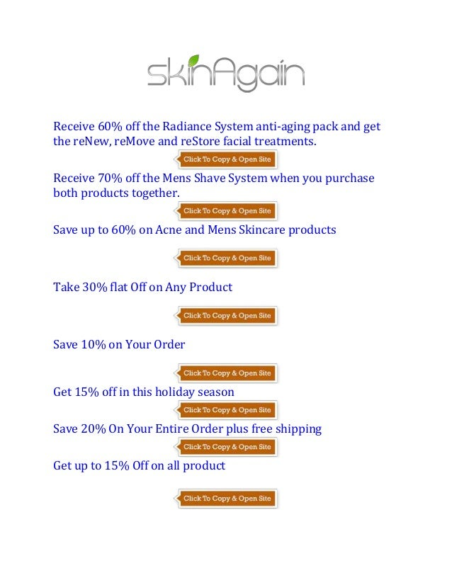 acne free coupon code