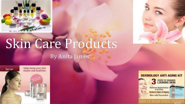 Skin Care Products By Anita James