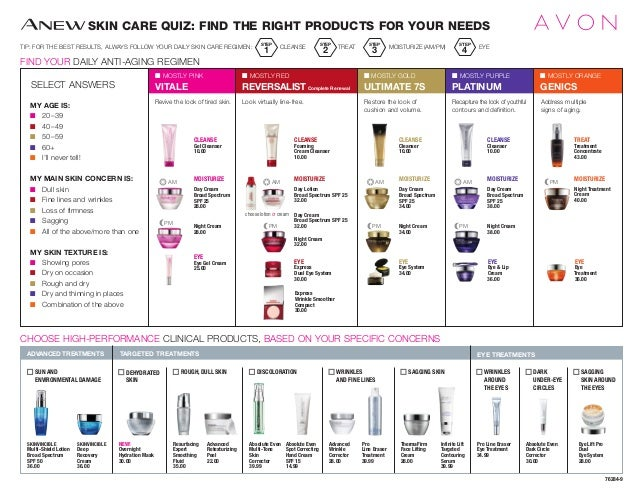 SKIN CARE QUIZ: FIND THE RIGHT PRODUCTS FOR YOUR NEEDS TIP: FOR THE BEST RESULTS, ALWAYS FOLLOW YOUR DAILY SKIN CARE REGIM...