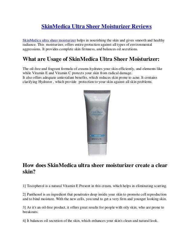 Ultra Sheer Moisturizer by SkinMedica #3