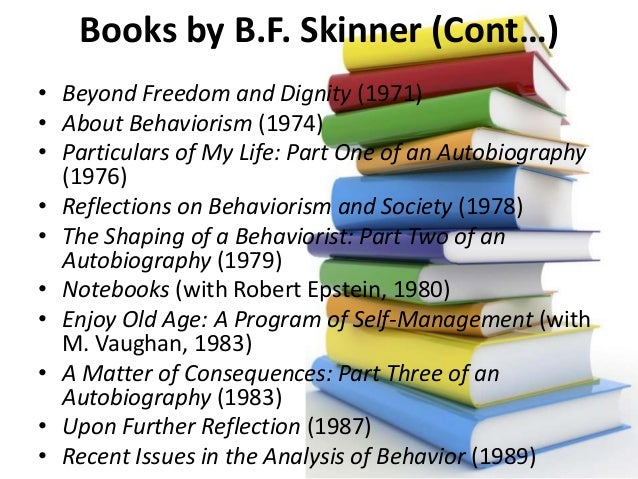 beyond freedom and dignity Beyond freedom and dignity is a 1971 book by american psychologist b f skinner skinner argues that entrenched belief in free will and the moral autonomy of the individual (which skinner referred to as dignity).
